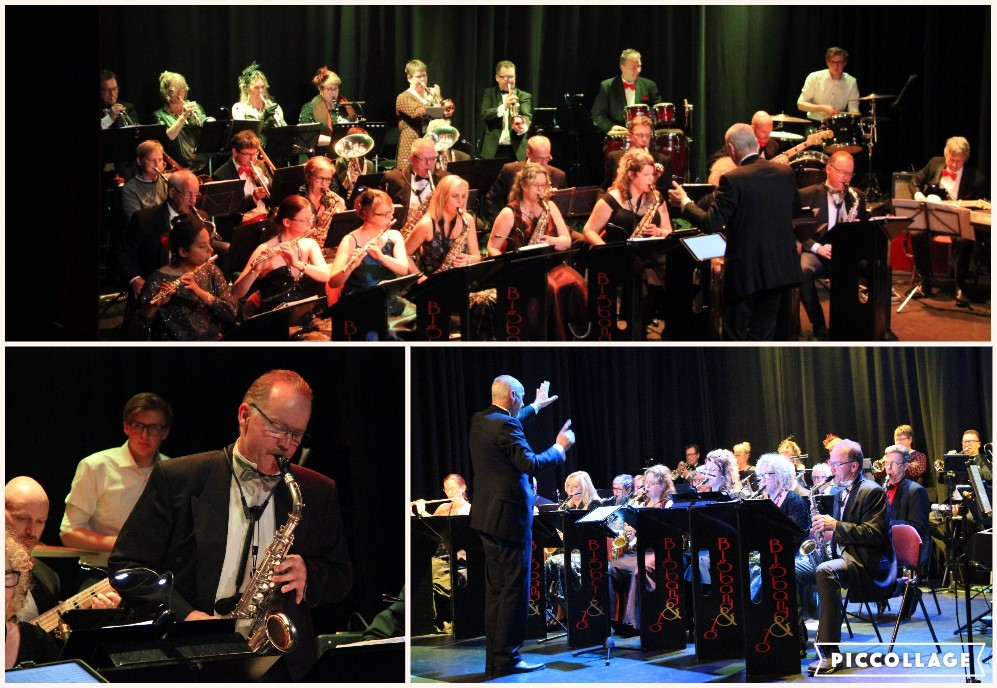 Collage Persfoto's Bigband & Zo