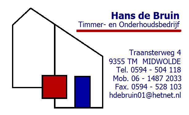 Bouwbedrijf Hans de Bruin