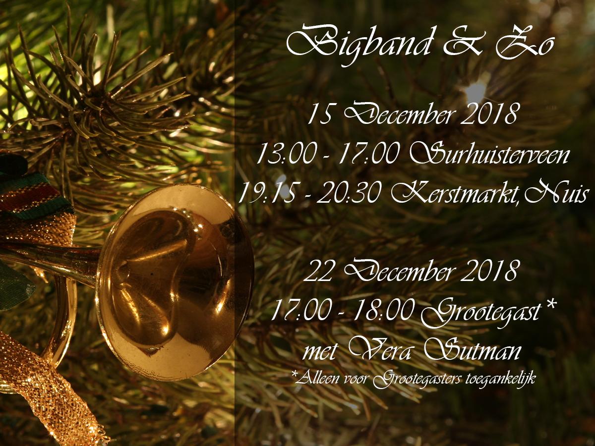 Drie Keer Swingende Kerstmuziek In December